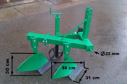beetpflug bp20 pflug f r klein traktoren ab 10 ps ebay. Black Bedroom Furniture Sets. Home Design Ideas