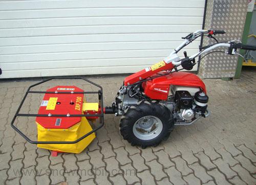 Einachser KM5 9,0PS Honda Motor GX270 Einachsschlepper Kreiselmäher | eBay