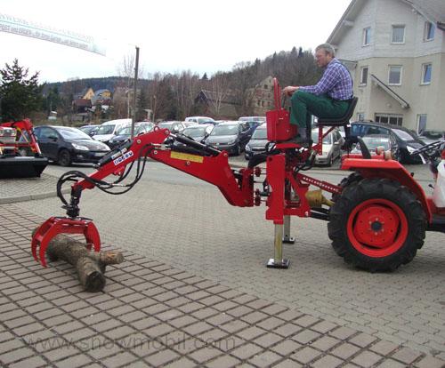 hb24s bagger anbaubagger heckbagger f r traktoren mit. Black Bedroom Furniture Sets. Home Design Ideas