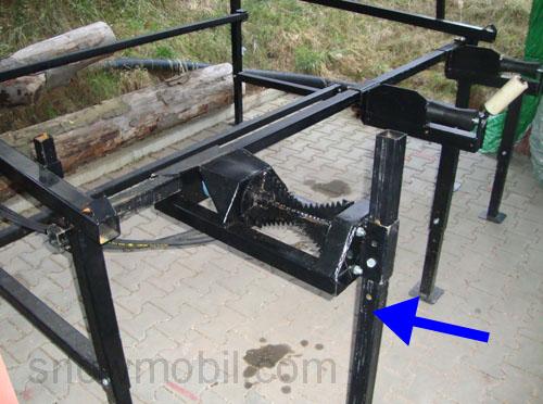hzb3000hl stammholzauflagetisch zuf hrtisch f r s gespaltautomat ebay. Black Bedroom Furniture Sets. Home Design Ideas