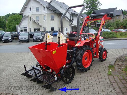 Traktor Kartoffelpflanzer