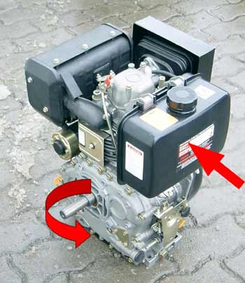 dieselmotor k406e 10 0 ps mit elektrostart motorger te fritzsch gmbh. Black Bedroom Furniture Sets. Home Design Ideas