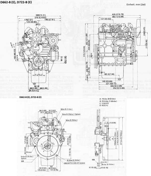 kubota v1305 wiring diagram kubota farm tractors