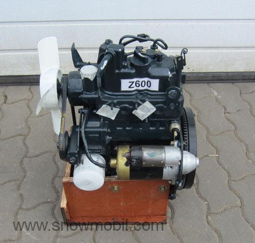 Z on Kubota Engine Exhaust Manifold