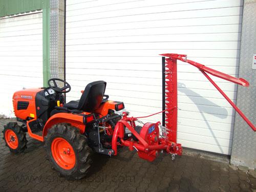 kleintraktor traktor kubota b1220 12 0ps balkenm her. Black Bedroom Furniture Sets. Home Design Ideas