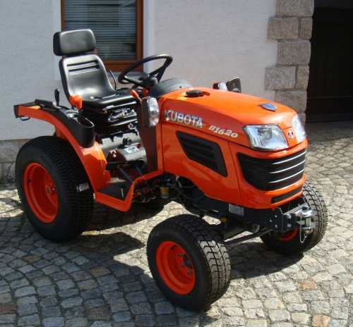 kleintraktor allrad traktor kubota b1620 16 0ps neu klein. Black Bedroom Furniture Sets. Home Design Ideas