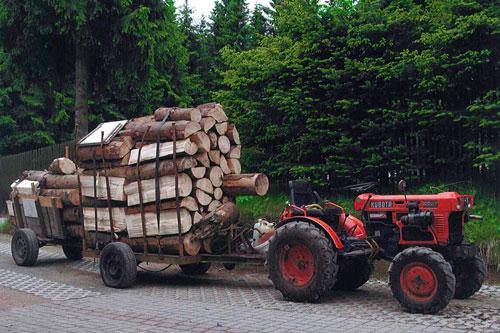kleintraktor allrad traktor kubota b7001 neu lackiert. Black Bedroom Furniture Sets. Home Design Ideas