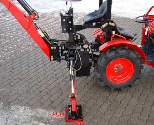 kleintraktor allrad traktor kubota b7001d mit heckbagger. Black Bedroom Furniture Sets. Home Design Ideas