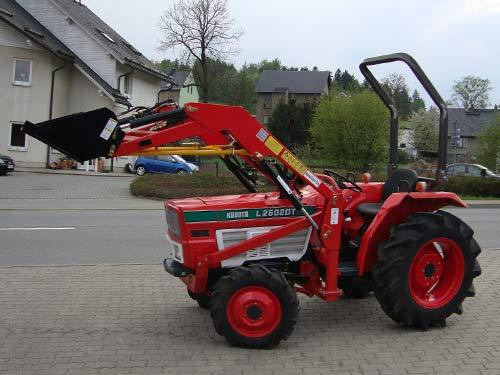 kleintraktor allrad traktor kubota l2602dt frontlader ebay. Black Bedroom Furniture Sets. Home Design Ideas