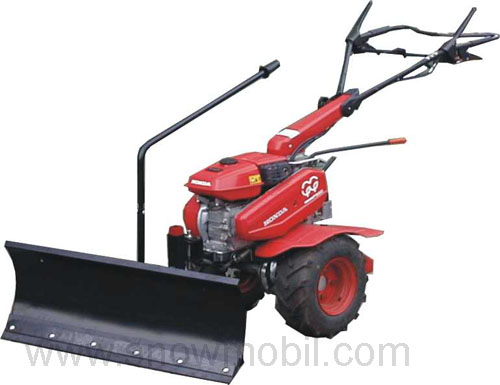 Snow Plow 118cm For Walk Behind Two Wheel Tractor Honda