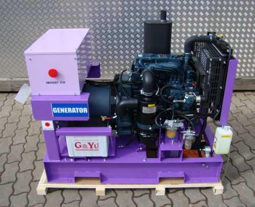 diesel stromerzeuger generator 19tdka1 kubota ebay. Black Bedroom Furniture Sets. Home Design Ideas