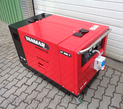 diesel stromerzeuger generator yanmar tf160t notstrom. Black Bedroom Furniture Sets. Home Design Ideas