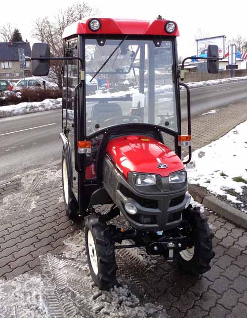kabine beheizt f r traktor yanmar gk200 traktorkabine. Black Bedroom Furniture Sets. Home Design Ideas
