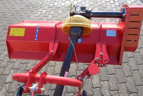 Flail mower SLM115HSM Hammer side shift manually for