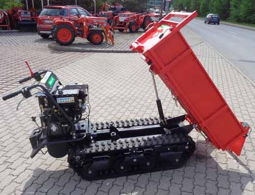 Raupentransporter Allwegtransporter Muldenkipper L800L mit japanischem Getriebe