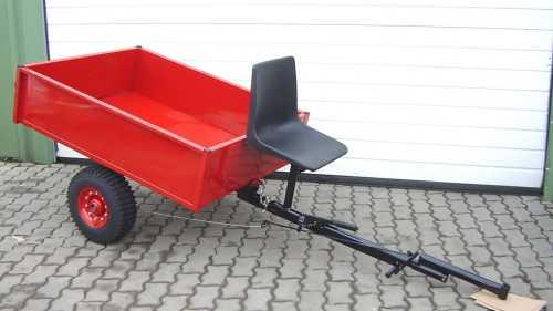 kipp anh nger hv350 f r einachser nutzlast 350 kg. Black Bedroom Furniture Sets. Home Design Ideas