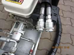 Forstanhänger-Hydraulikaggregat