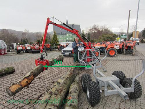 Holzbeförderung