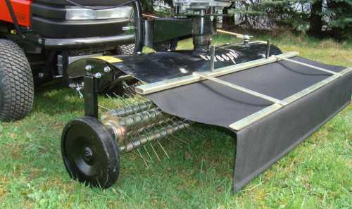 vertikutierer rasenl fter fkm110v 110cm entmooser. Black Bedroom Furniture Sets. Home Design Ideas