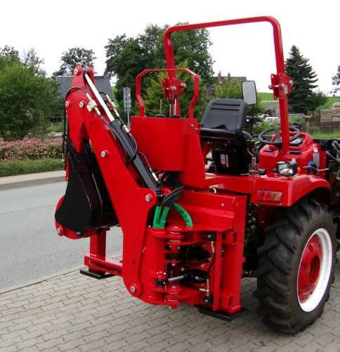 bagger hb24s anbaubagger heckbagger f r traktoren dreipunktaufh ngung mit seitenverschub. Black Bedroom Furniture Sets. Home Design Ideas