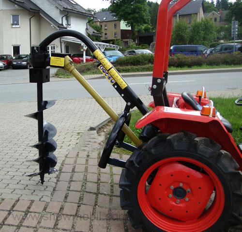 erdbohrer 150mm heck erdbohrger t f r traktoren. Black Bedroom Furniture Sets. Home Design Ideas