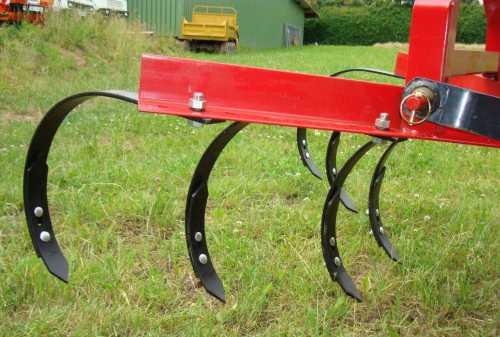 grubber kultivator 120cm 6 zinken f r traktoren kat1 heckanbau ebay. Black Bedroom Furniture Sets. Home Design Ideas