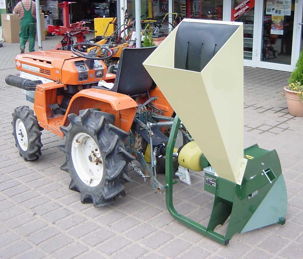 Häcksler Shredder R130T für Kubota Iseki Traktor - Motorgeräte ...