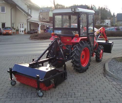 Kehrmaschine HKM115H Kehrgutbehälter 115 cm Kleintraktoren Heckanbau Frontanbau