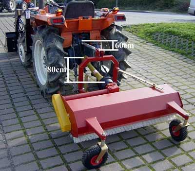 kehrmaschine kehrwalze km120 120cm f r traktor kubota. Black Bedroom Furniture Sets. Home Design Ideas