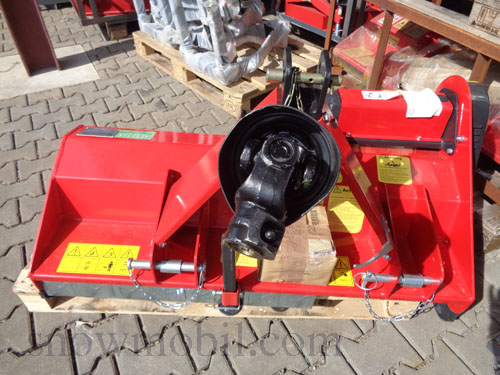 Flail mulcher SLM115 flail mower for tractors with 15PS