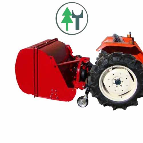 Schlegelmulcher SLM125HSM Hammer Seitenverstellung manuell für Kleintraktoren