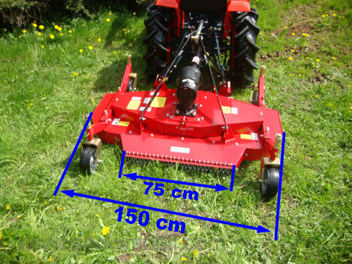 Rotary mower SM150M Mulcher for tractors from 15PS - Motorgeräte