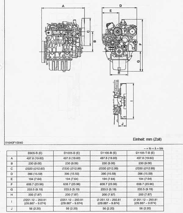 Kubota D905 Engine Fuel Diagram Com