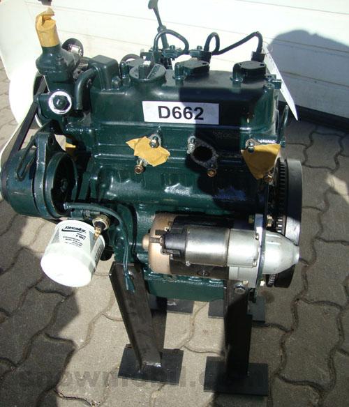 Diesel engine Kubota D662 used - Motorgeräte Fritzsch GmbH