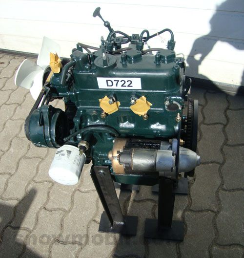 Diesel Engine Kubota D722 Used Motorger Te Fritzsch Gmbh
