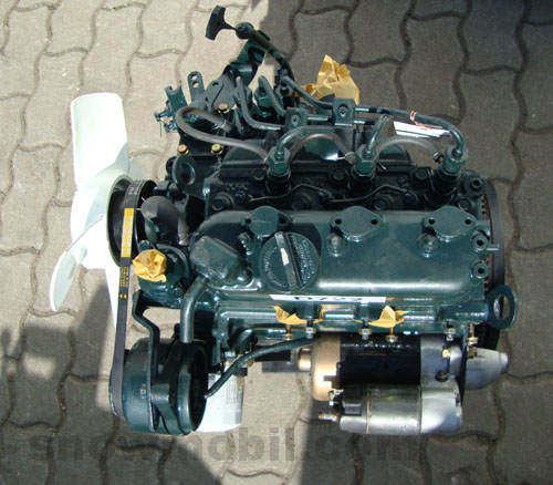 D on Kubota D722 Starter