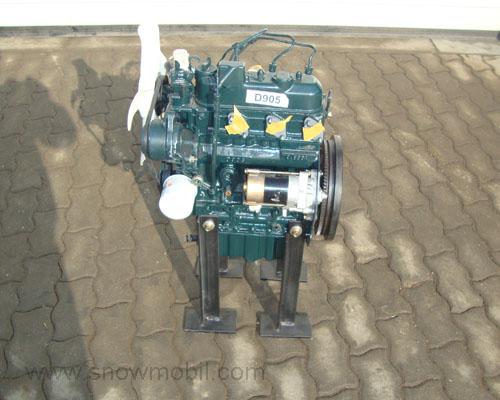 Diesel engine Kubota D905 used - Motorgeräte Fritzsch GmbH