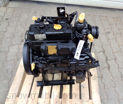 dieselmotor yanmar 3t70b 20ps 831ccm gebraucht. Black Bedroom Furniture Sets. Home Design Ideas