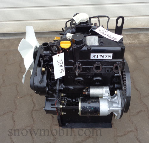 dieselmotor yanmar 3tn75 21 5ps gebraucht motorger te fritzsch gmbh. Black Bedroom Furniture Sets. Home Design Ideas