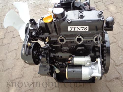 dieselmotor yanmar 3tn78 26 7ps gebraucht motorger te fritzsch gmbh. Black Bedroom Furniture Sets. Home Design Ideas