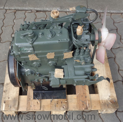 Diesel engine Yanmar 18,5PS 879ccm used - Motorgeräte Fritzsch GmbH