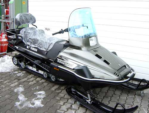 arbeitsschlitten motorschlitten snowmobile yamaha viking vk540e iv neu ebay. Black Bedroom Furniture Sets. Home Design Ideas