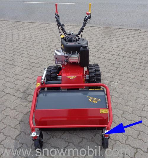 Flail mulcher TR800R 12,5PS flail mower, brushcutter - Motorgeräte