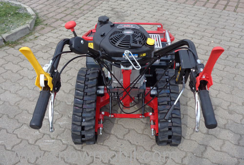 Flail mower TR800R with caterpillars 12,5PS Mulcher brush