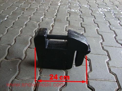 traktorgewichte einzeln 20kg frontgewichte ballastgewichte. Black Bedroom Furniture Sets. Home Design Ideas
