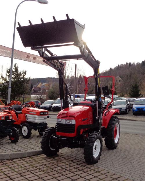 traktor eurotrack 304 mit frontlader allrad und. Black Bedroom Furniture Sets. Home Design Ideas