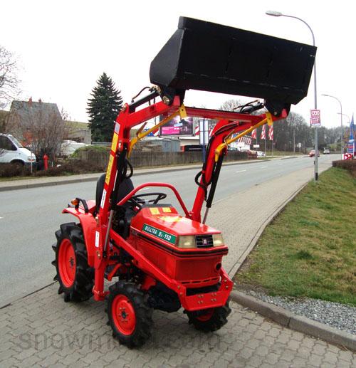kleintraktor kubota b1 15 gebraucht mit neuem frontlader. Black Bedroom Furniture Sets. Home Design Ideas
