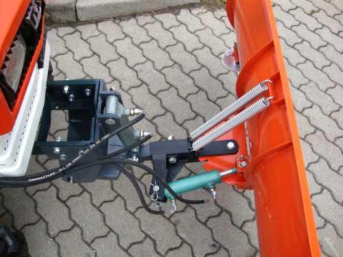 schneeschild schneer umschild 120cm hydraulisch f r kleintraktor traktor motorger te fritzsch gmbh. Black Bedroom Furniture Sets. Home Design Ideas