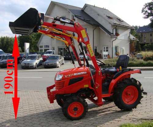 kleintraktor allrad traktor kubota b1620 16 0ps neu. Black Bedroom Furniture Sets. Home Design Ideas
