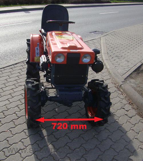 kleintraktor allrad traktor kubota b6000 bulldog gebr neu. Black Bedroom Furniture Sets. Home Design Ideas
